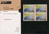 Nederland NL M93  1992 Tasman, Abel  cent  Postfris