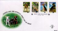 Aruba AR E81  1999 Honden  cent  FDC zonder adres