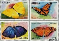 Aruba AR 302#305  2003 Vlinders  cent  Postfris