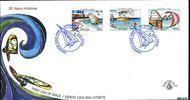 Aruba AR E126  2006 Hi-Winds  cent  FDC zonder adres