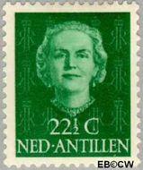 Nederlandse Antillen NA 225  1954 Type 'En Face'  22½ cent  Gestempeld