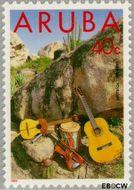 Aruba AR 122  1993 Folklore 40 cent  Gestempeld