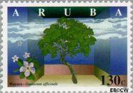 Aruba AR 203  1997 Bomen 130 cent  Gestempeld