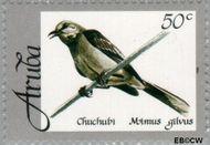 Aruba AR 213  1998 Vogels 50 cent  Gestempeld