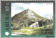 Aruba AR 253  2000 Landschappen 85 cent  Gestempeld