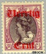 Nederland NL 102  1919 Koningin Wilhelmina- Hulpuitgifte 40#30 cent  Gestempeld