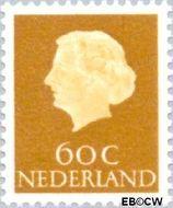Nederland NL 630  1954 Koningin Juliana- Type 'En Profile' 60 cent  Gestempeld