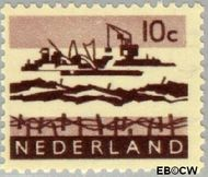Nederland NL 794  1962 Landschappen 10 cent  Gestempeld