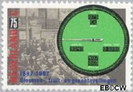 Nederland NL 1380  1987 Veilinssysteem 75 cent  Gestempeld