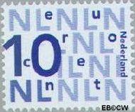 Nederland NL 2135  2003 Bijplakzegels 10 cent  Gestempeld