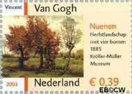 Nederland NL 2142  2003 Vincent van Gogh 39 cent  Gestempeld