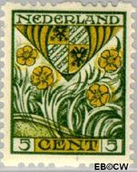Nederland NL R79  1927 Wapens 5+3 cent  Gestempeld