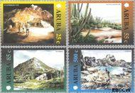 Aruba AR 251#254  2000 Landschappen  cent  Gestempeld
