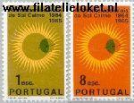 POR 966#967 Postfris 1964 Kalme Zon -jaar