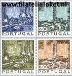 POR 1095#1098 Postfris 1970 Opening olierafinaderij Porto