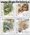 POR 1326#1329 Postfris 1976 Postzegeltentoonstelling Portucale '77