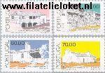 POR 1713#1716 Postfris 1987 Traditionele architectuur
