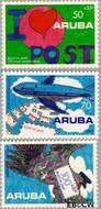 Aruba AR 113#115  1992 Postverkeer  cent  Postfris