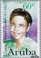 Aruba AR 182  1996 Bekende vrouwen 60 cent  Gestempeld
