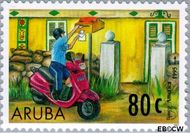 Aruba AR 192  1997 Postdienst 80 cent  Gestempeld