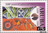 Aruba AR 233  1999 Culturele diversiteit 175 cent  Gestempeld