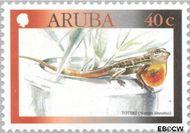 Aruba AR 243  2000 Hagedissen 40 cent  Gestempeld