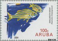 Aruba AR 323  2004 Vissen 100 cent  Gestempeld