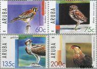 Aruba AR 343#346  2005 Roofvogels  cent  Gestempeld