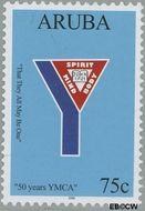 Aruba AR 358  2006 Y.M.C.A. 75 cent  Gestempeld