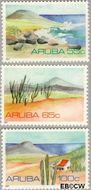 Aruba AR 86#88  1991 Landschappen  cent  Postfris