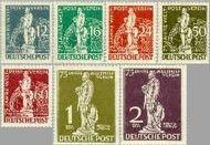 Berlin ber 35#41  1949 U.P.U.  Postfris
