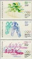 Berlin ber 716#718  1984 Olympische Spelen- Los Angeles  Postfris