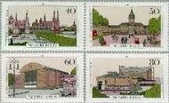 Berlin ber 772#775  1987 Berlijn  Postfris