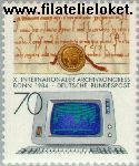 Bundesrepublik BRD 1224#  1984 Archiefcongres  Postfris