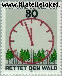 Bundesrepublik BRD 1253#  1985 Redt het bos  Postfris