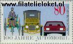 Bundesrepublik BRD 1268#  1986 Auto's  Postfris