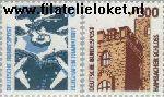 Bundesrepublik BRD 1347#1348  1988 Bezienswaardigheden  Postfris