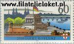 Bundesrepublik BRD 1583#  1992 Koblenz  Postfris