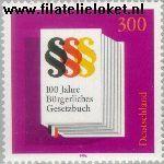 Bundesrepublik BRD 1874#  1996 Burgerlijk Wetboek  Postfris