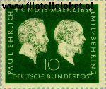 Bundesrepublik BRD 197#  1954 Ehrlich,Paul & Behring, Emil  Postfris
