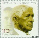 Bundesrepublik BRD 1984#  1998 Jünger, Ernst  Postfris