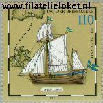 Bundesrepublik BRD 2022#  1998 Dag van de Postzegel  Postfris