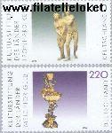 Bundesrepublik BRD 2107#2108  2000 Cultuurstichting  Postfris