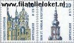 Bundesrepublik BRD 2156#2157  2001 Bezienswaardigheden  Postfris