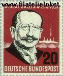 Bundesrepublik BRD 266#  1957 Ballin, Albert  Postfris