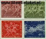 Bundesrepublik BRD 332#335  1960 Olympische Spelen  Postfris