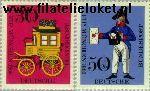 Bundesrepublik BRD 516#517  1966 FIP München  Postfris