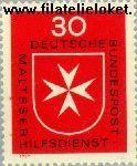 Bundesrepublik BRD 600#  1969 Maltheser Hulpdienst  Postfris