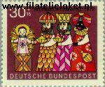 Bundesrepublik BRD 749#  1972 Kerstzegels  Postfris