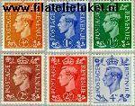Groot-Brittannië grb 246#249  1951 George George VI  Postfris